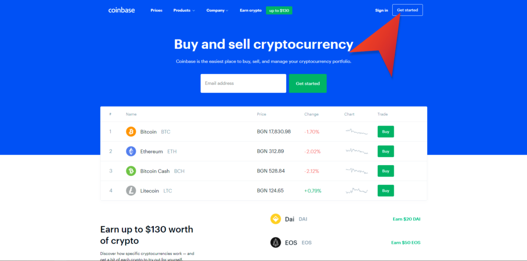 how to buy through coinbase