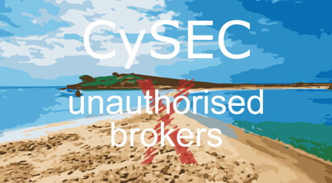 cysec unauthorized brokers