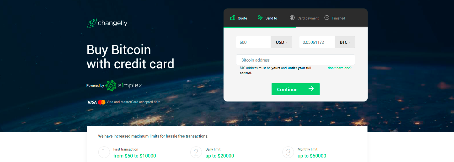 changelly buy and sell bitcoin and other cryptocurrencies