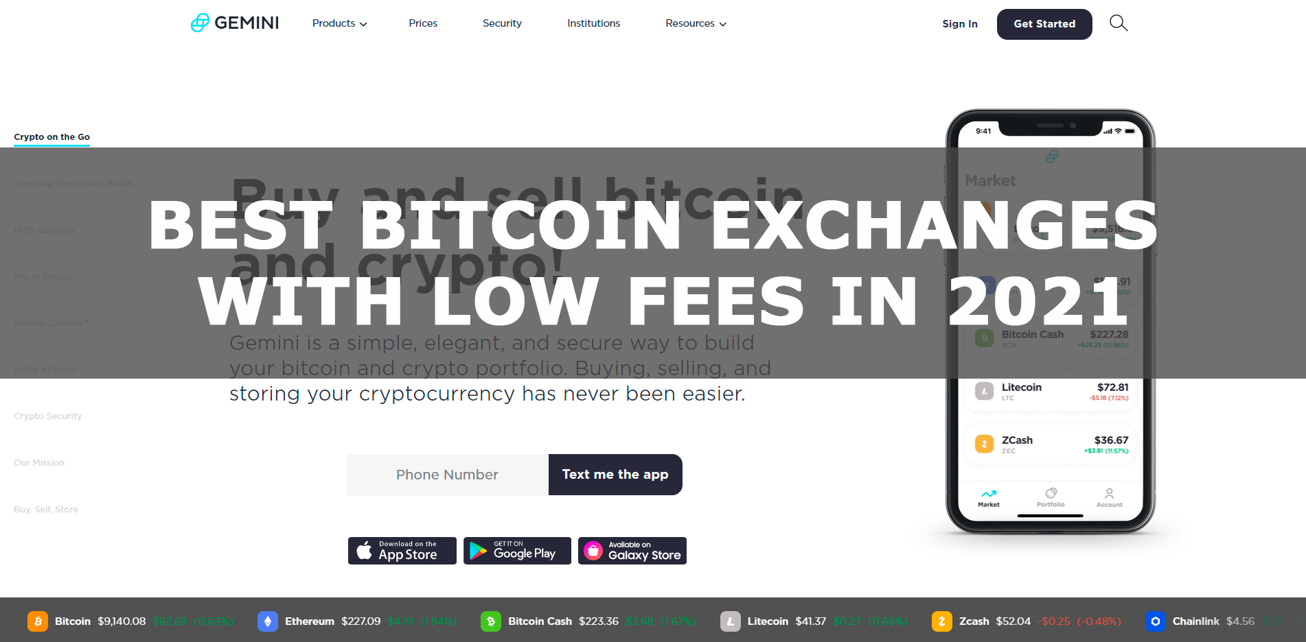 low fees exchanges 2021