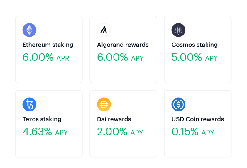 Stake cryptocurrency on Coinbase